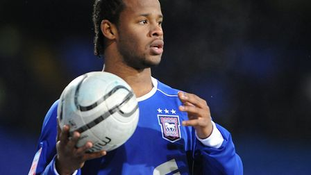 Jaime Peters was another winger converted from a right-back to a defender. Picture: ARCHANT