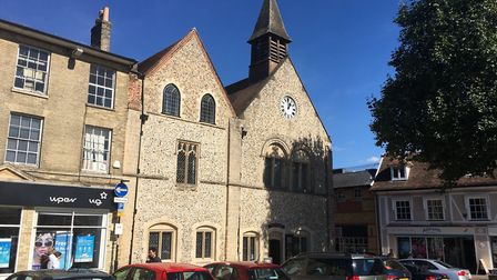 Moyse's Hall in Bury St Edmunds Picture: MICHAEL STEWARD