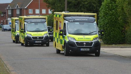 The East of England Ambulance Service spent �450,000 on exit packages in the last financial year Pic