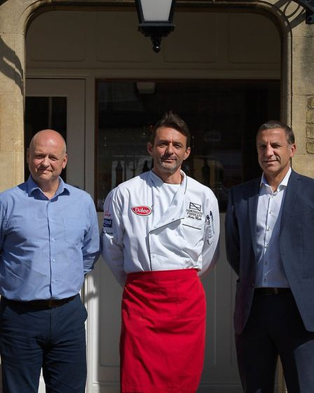 Jonathan Graham, Kristian Wade and Mark Theobald of Northgate Foods Picture: KEITH SUFFLING