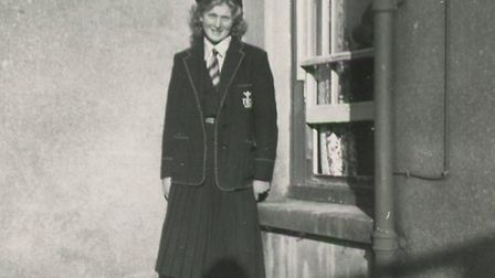 Hazel at school - Lourdes Convent, near Brighton Picture: FAMILY COLLECTION