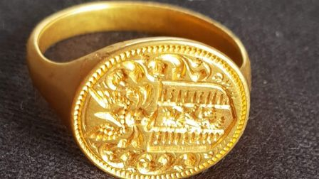 The ring is believed to date from 1640 to 1680 Picture: DNW