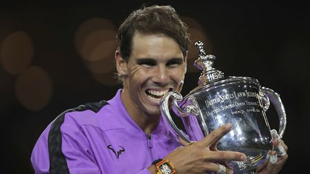 Rafael Nadal won the US Open in New York. Picture: PA SPORT