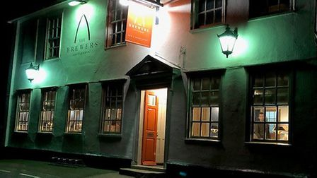 The Brewers Arms in Rattlesden is featured in The Good Food Guide 2020. Picture: MARK HEATH