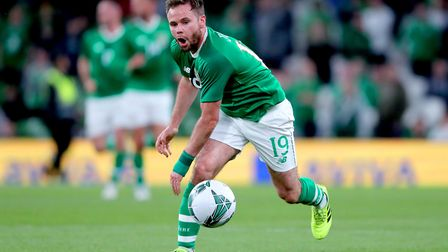 Alan Judge, pictured in action for the Republic of Ireland. Picture: PA