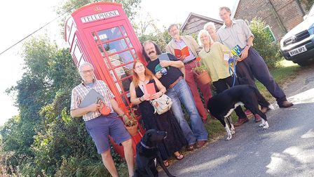 The Great Glemham Micro-Poetry Festival will be taking place at the village's K6 Phonebook on 20th S