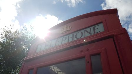 The K6 Phonebox is an important hub in the village PICTURE: RACHEL EDGE