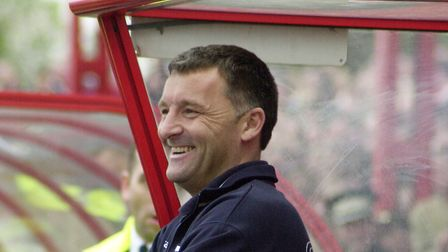 Former Doncaster Rovers boss, Dave Penney, who plotted the downfall of Ipswich Town in the Carling C