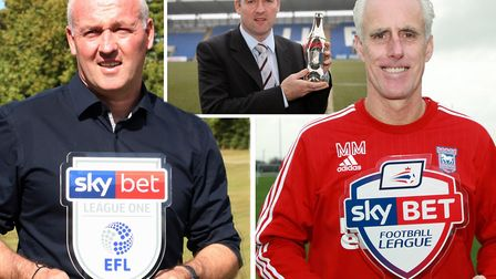 Paul Lambert has won the manager of the month award for August. Picture: ARCHANT/EFL/ACTION IMAGES