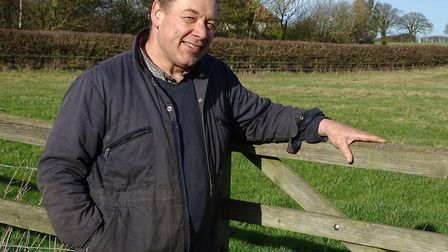 Farmers are caught in a trap, says Suffolk NFU chairman Glenn Buckingham Picture: BRIAN FINNERTY