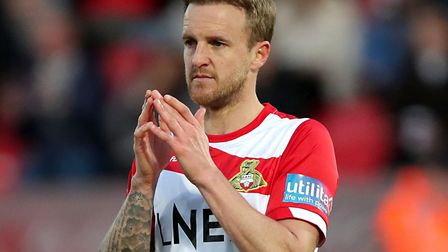 James Coppinger, now 38, has made more than 500 appearances for Rovers and is a former Ipswich targe