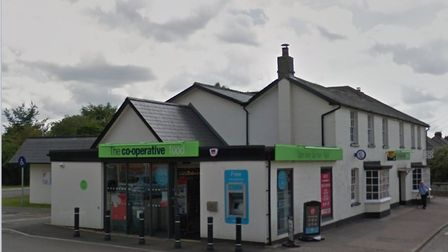 Burglars took cigarettes from the Co Op store at Great Cornard on Friday morning Picture: GOOGLE MAP