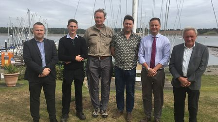 Speakers at the Stour & Orwell Forum 2019, Royal Harwich Yacht Club, Woolverstone