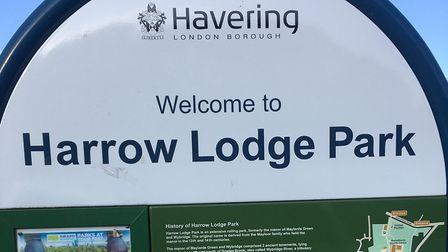 Harrow Lodge Park, the home of the weekly Harrow Lodge parkrun in Hornchurch, East London. Picture: