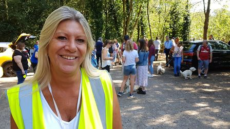 Amanda Doyland is part of a team of organisers who run the event. PICTURE: RACHEL EDGE