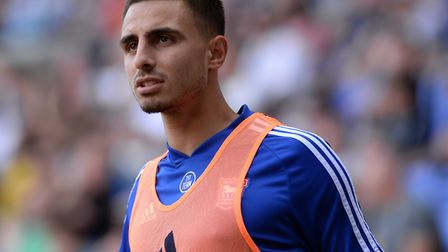 Anthony Georgiou has made four substitute appearances for Ipswich Town since arriving on loan from T