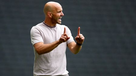Paul Tisdale was appointed MK Dons manager last summer. Photo: PA