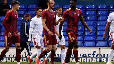 Will Keane and Toto Nsiala both played for Town U23s against Nottingham Forest at Portman Road Pictu