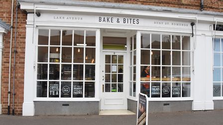 The Lake Avenue Bake & Bites café, coffee shop and bakery in Bury St Edmunds. Picture: DENISE BRADLE