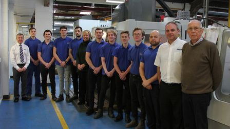 Apprentices at Maycast-Nokes last year