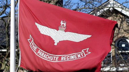 The soldiers served with the Parachute Regiment at Colchester Picture: EASTNEWS/PETER LAWSON