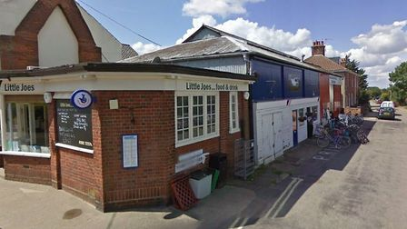 The site of the new enterprise hub on the corner of Blyth Road and Station Road, Southwold. Picture: