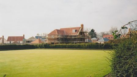 The bowling green in 2002 when it was still in use Picture: CONTRIBUTED