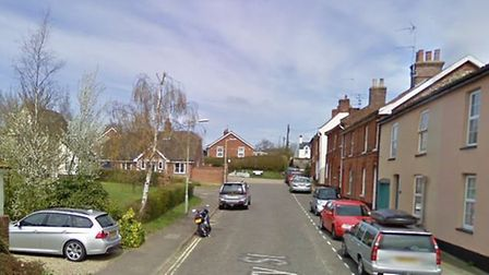 The fire service and ambulance service responded to an incident in Halesworth Picture: GOOGLE
