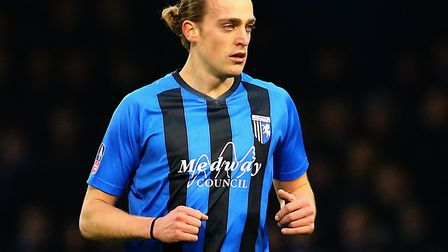 Gillingham lost 22-goal striker Tom Eaves to Hull this summer. Picture: PA