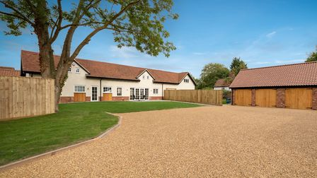 Fairways, new homes at Fynn Valley Golf Club. Picture: GARY DOD
