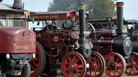 The 45th Grand Henham Steam Rally attracted thousands of visitors over the weekend Picture: SARAH L