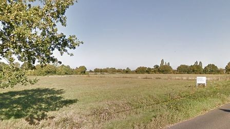 Proposals for 65 new homes on land west of Broad Road in Bacton are set to be approved Picture: GOOG