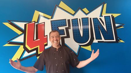 Centre manager and head chef Jason Shaw at 4 Fun play centre in Saxmundham Picture: 4 FUN