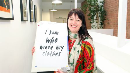Jo Salter, founder of Where Does It Come From? Picture: Gerard Hughes