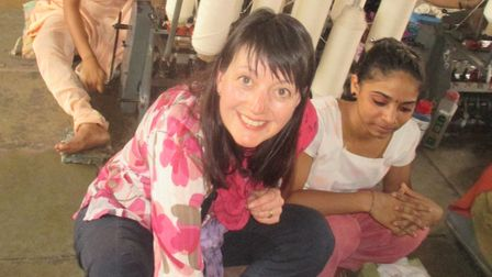 Jo Salter on a visit to India