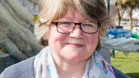 Suffolk Coastal MP Therese Coffey hopes the proposal to build a new quarry has been dropped. Picture