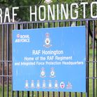 RAF Honington is home to the RAF Regiment and Police and the service's force protection wing Picture