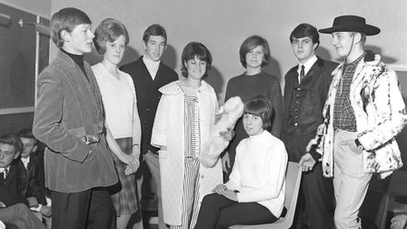 Wymondham youth club fashion show in November 1965. Picture: Archant Archive