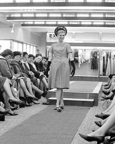 Jarrold's fashion show in Norwich, February 23, 1966. Photo: Archant Library