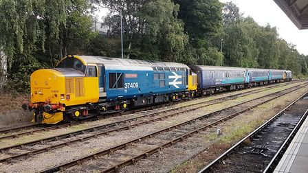 The traditional train used on the Norwich to Lowestoft branch - this weekend is expected to be its l
