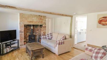 Award-winning Daisy Cottage, Friston. Picture: SYKES HOLIDAY COTTAGES