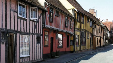 Lavenham is renowned for its period buildings Picture: GETTY IMAGES