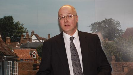 Tim West of Sworders estate agents Picture: PETER PAYN