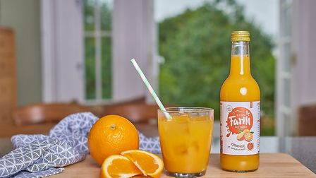 Barn Farm Drinks has added an orange juice to its range Picture: EMMA KINDRED