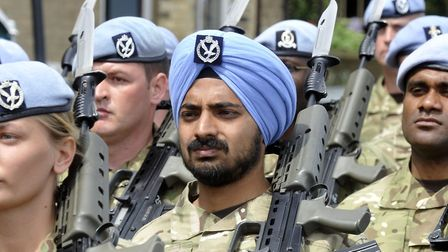 Beards in the armed forces were usually only previously permitted for religious or medical reasons P