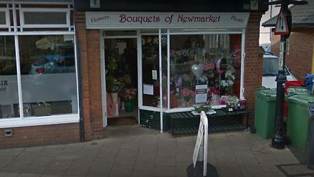 Bouquets of Newmarket was one of the shops targetted by notorious burglar Jason Spearman, 47 Picture