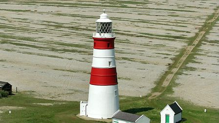 Orford lighthouse is in danger of toppling into the north sea. The effect we are having on our envir