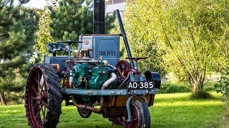 The 'most important tractor ever to come to auction in the UK' is set to be offered at Cheffins� Vin