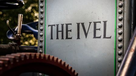 A close-up of the Ivel's name plate Picture: CHRIS LISHMAN/CHEFFINS