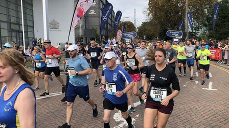 A record 4,000 runners entered this year's Great East Run. Picture: ARCHANT